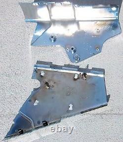 Steering column cover bottom chrome plastic for Kenworth 06+ W900 T600 Models