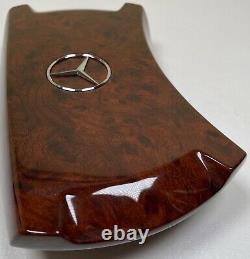 Steering wheel wooden center cover (1007-03) Mercedes W123 W124 W126 W201