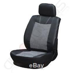 Suede Durable Car Seat Cover WithSteering Wheel Cover/Belt Pad For Volkswagen VW