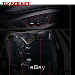 TIKSCIENCE Car Chair Cushion Seat Decor Cover Mat Pad & Steering Wheel Cover
