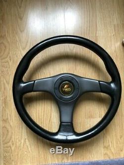 TRD Nardi Steering Wheel Rare Horn JDM AE86 Keiichi Tsuchiya Supra Chaser Levin
