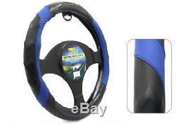 Tirol T22296 New Fashion Steering Wheel Cover PVC Universal Fit 38CM Size