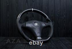 Toyota steering wheel for Supra Celica MR2 Altezza Chaser JZX100 Carbon Fiber