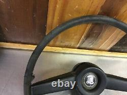 Triumph TR250 Original Steering Wheel With Spokes Cover! VERY Rare Find! T2079