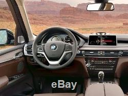 USA BMW F15 X5 F16 X6 F01 F02 F11 Real Carbon Fiber Steering Wheel Cover Overlay