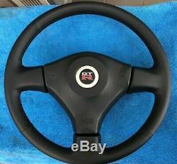 USED Nissan Skyline ER34 GTT complete Steering wheel with GTR emblem