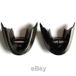Union Jack Carbon Fiber Steering Wheel Cover For Mini Cooper F55 F56 F54 F57 F60