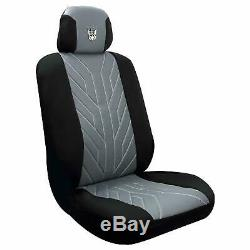 Universal Fit Set Transformers Decepticons Car Set Seat Steering Wheel Cover Flo