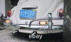 Vintage Hella Back Fog Driving Lamp Light Porsche 356 Mercedes Vw Cox Bug Bus