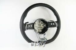 Volkswagen Vw Golf Mk7 Gtd Flat Bottom Multifunction Steering Wheel #7