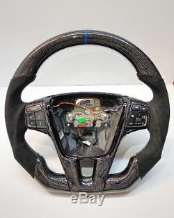 Volvo S60/V60'Polestar Style' Hexagonal Carbon Fiber Steering Wheel Upgrade