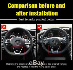 W176 A class A45 look Steering Wheel Low Cover Trim silver 11 Replacement 16-18