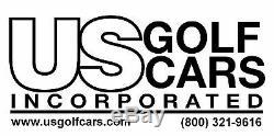 Yamaha Drive/G16-G22 Silver Steering Wheel/Hub Adapter/Chrome Cover Kit $0 Ship